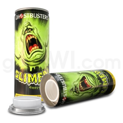 Safe Can Energy Drink - Ghostbusters Slimed