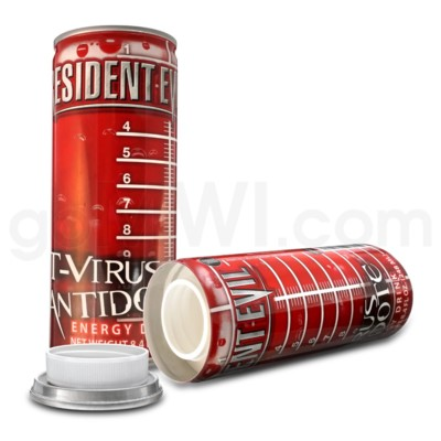 Safe Can Energy Drink - Resident Evil T-Virus Antidote