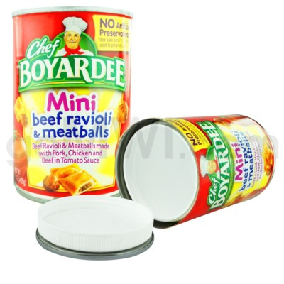 Safe Can Chef Boyardee - Mini Beef Ravioli & Meatballs