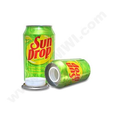 Sun Drop Safe Can