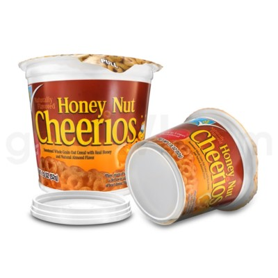 Safe Can Cereal - Honey Nut Cheerios