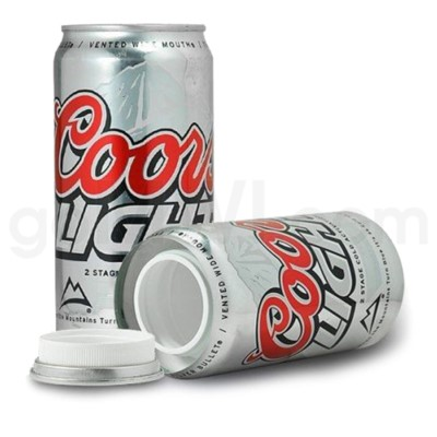 Safe Can Coors Light Beer Can