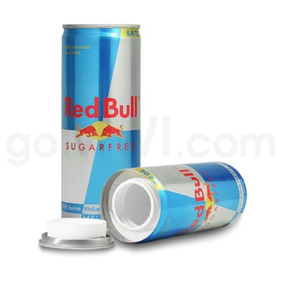 Safe Can Red Bull Sugarfree Can