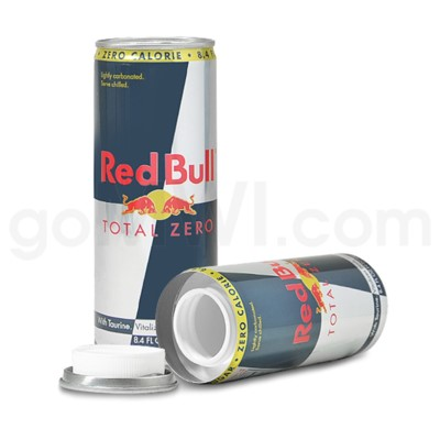 Safe Can Red Bull Total Zero 8.4oz Can