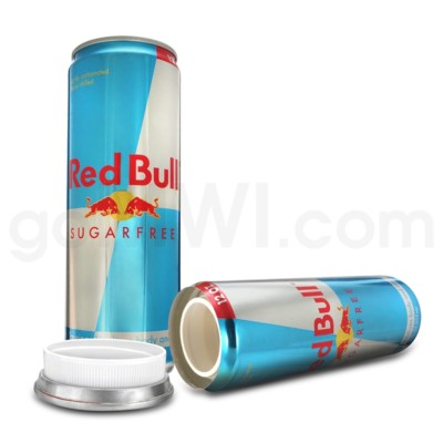 Safe Can Red Bull Sugar Free 12oz Can