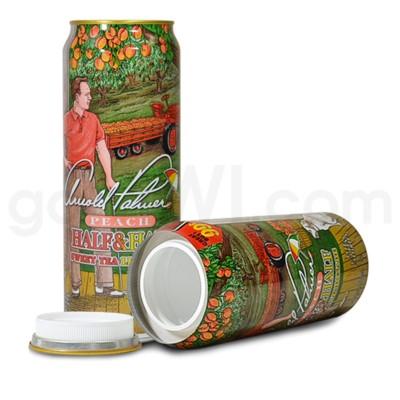 Safe Can Arizona Arnold Palmer Peach Sweet Tea Lemonade 23oz
