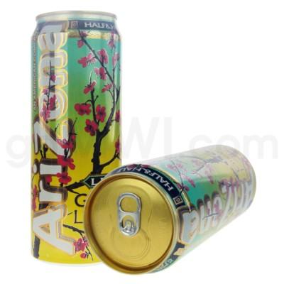 Safe Can Arizona Green Tea Lemonade Large Can