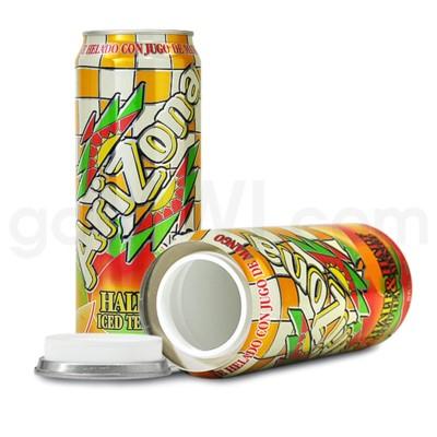Safe Can Arizona Half Iced Tea / Half Mango 23oz Can