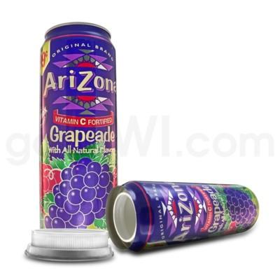 Safe Can Arizona Grapeade 23oz Can