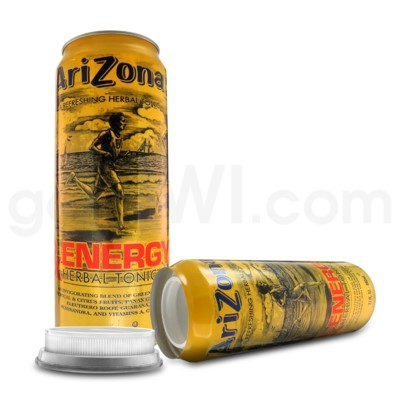 Safe Can Arizona RX Energy Herbal Tonic 23oz Can