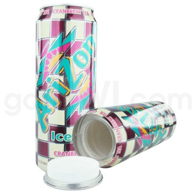 Safe Can Arizona Iced Tea w/Cranberry Large Can