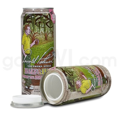 Safe Can Arizona Arnold Palmer Southern Style Sweet Tea 23oz