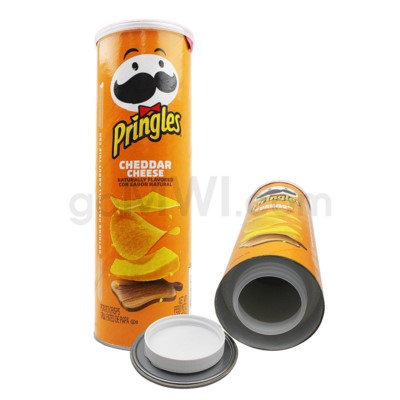 Safe Can Pringles Cheddar Cheese Large Can