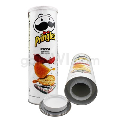 Safe Can Pringles Pizza Large  Can