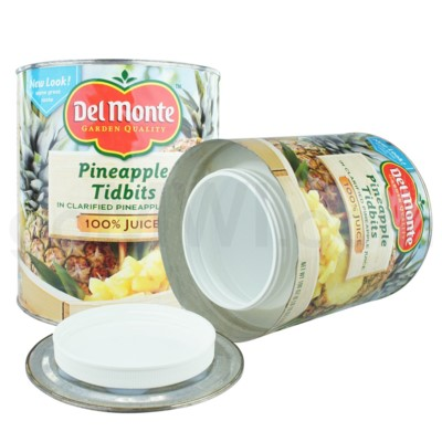 Safe Can X-LG Del Monte Pineapple Tidbits