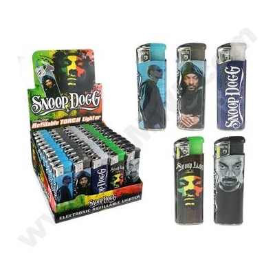 DISC Snoop Dogg Electronic Lighter (Series A) 50CT/BX