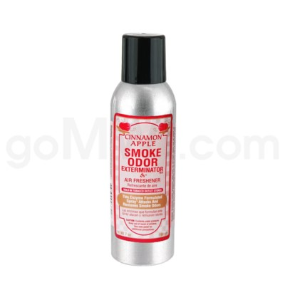 Smoke Odor Exterminator Cinnamon Apple Aerosol Spray 7oz