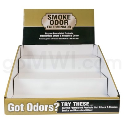 Smoke Odor Exterminator 120pcs- 3-Tier Display