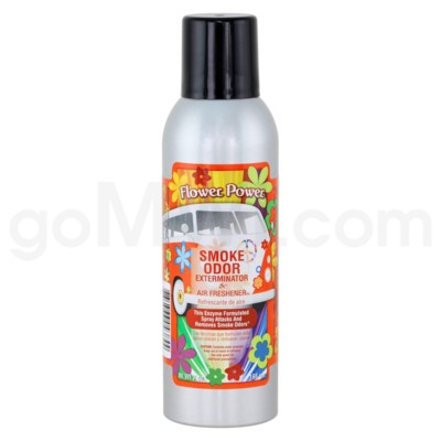 Smoke Odor Exterminator Flower Power  Aerosol Spray 7oz@