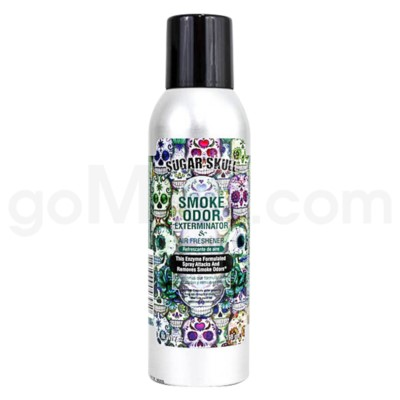 Smoke Odor Exterminator Sugar Skull  Aerosol Spray 7oz