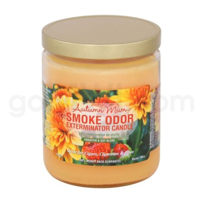 Smoke Odor Exterminator 13oz Candle Autumn Mum