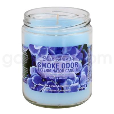 Smoke Odor Exterminator 13oz Candle Blue Serenity