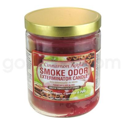 Smoke Odor Exterminator 13oz Candle Cinnamon Apple