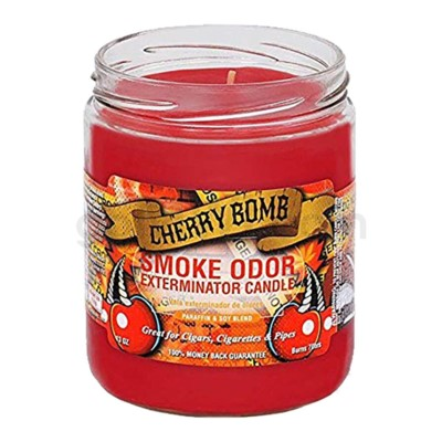 Smoke Odor Exterminator 13oz Candle Cherry Bomb