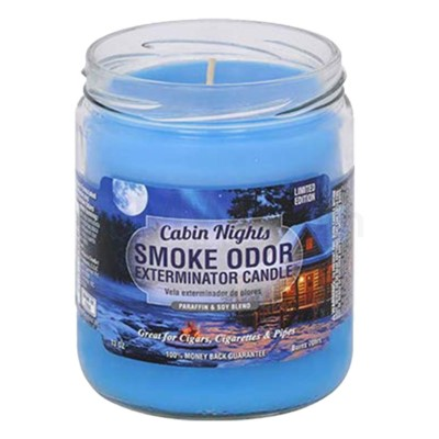 Smoke Odor Exterminator 13oz Candle Cabin Nights