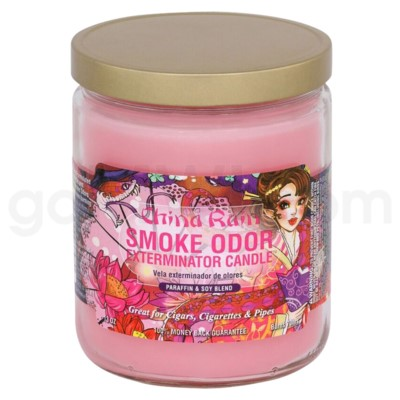 Smoke Odor Exterminator 13oz Candle China Rain