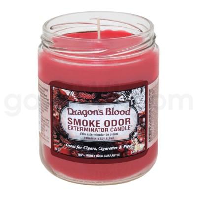 Smoke Odor Exterminator 13oz Candle Dragons Blood