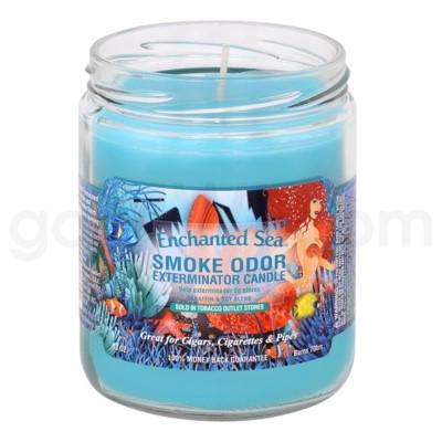 Smoke Odor Exterminator 13oz Candle Enchanted Sea