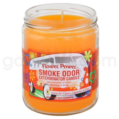 Smoke Odor Exterminator 13oz Candle Flower Power
