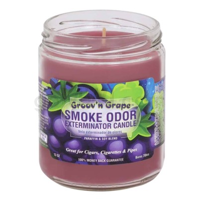 Smoke Odor Exterminator 13oz Candle Groov'n Grape