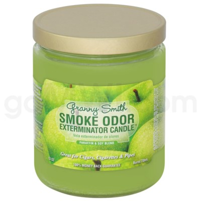 Smoke Odor Exterminator 13oz Candle Granny Smith