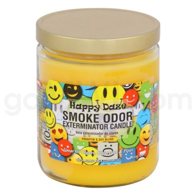Smoke Odor Exterminator 13oz Candle Happy Daze