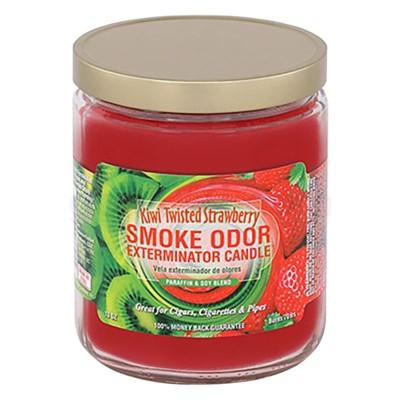 Smoke Odor Exterminator 13oz Candle Kiwi Twisted Strawberry