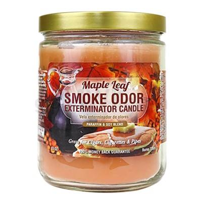 Smoke Odor Exterminator 13oz Candle Maple Leaf