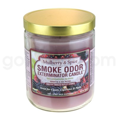 Smoke Odor Exterminator 13oz Candle Mulberry Spice