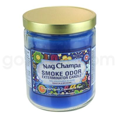 Smoke Odor Exterminator 13oz Candle Nag Champa