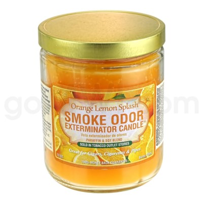 Smoke Odor Exterminator 13oz Candle Orange Lemon Splash