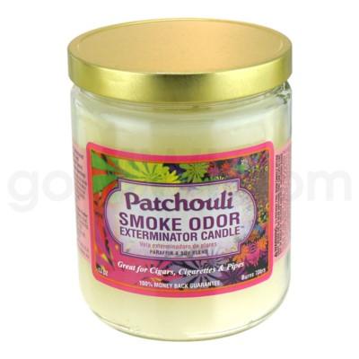 Smoke Odor Exterminator 13oz Candle Patchouli Amber