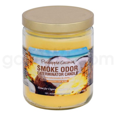 Smoke Odor Exterminator 13oz Candle Pineapple Cocount