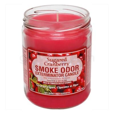 Smoke Odor Exterminator 13oz Candle Sugared Cranberry