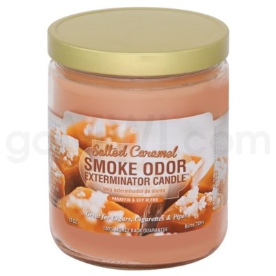 Smoke Odor Exterminator 13oz Candle Salted Caramel