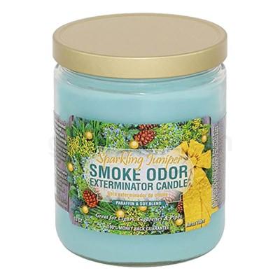 Smoke Odor Exterminator 13oz Candle Sparkling Juniper