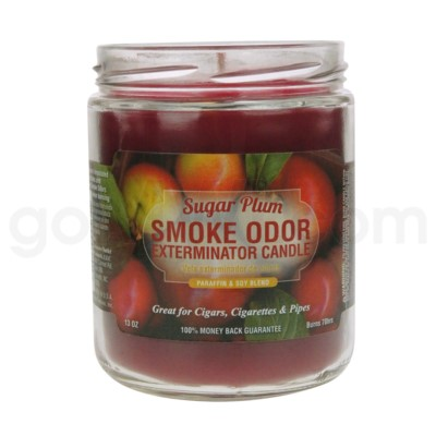 Smoke Odor Exterminator 13oz Candle Sugar Plum