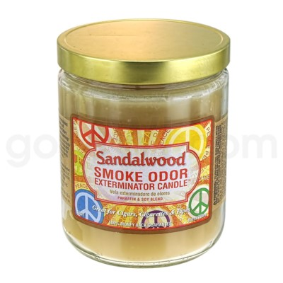 Smoke Odor Exterminator 13oz Candle Sandalwood