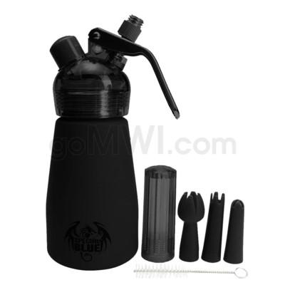Special Blue Aluminum Suede Dispenser 0.25L-1/2PT Black