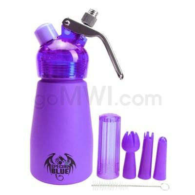 Special Blue Aluminum Suede Dispenser 0.25L-1/2PT Purple